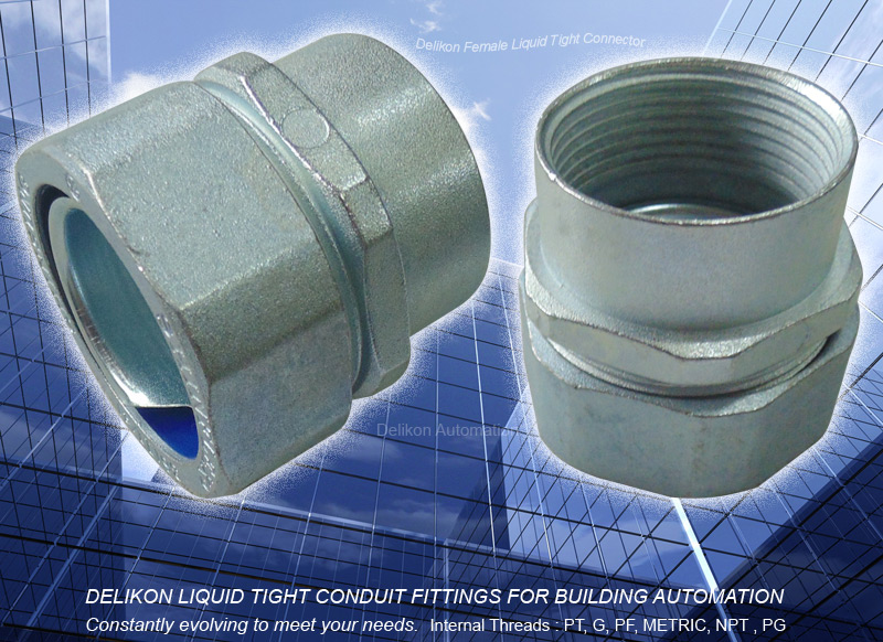 DELIKON LIQUID TIGHT CONDUIT FITTINGS and LIQUID TIGHT CONDUIT FOR BUILDING AUTOMATION
